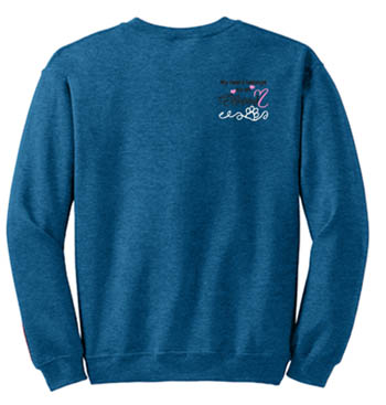 Embroidered Norwegian Elkhound Sweatshirt