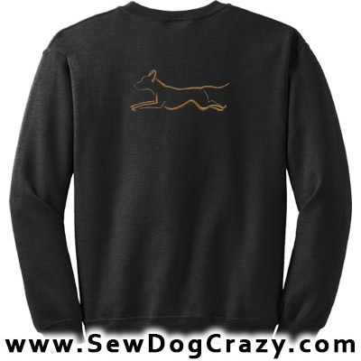 Rhodesian Ridgeback Dog Sports Sweatshirt