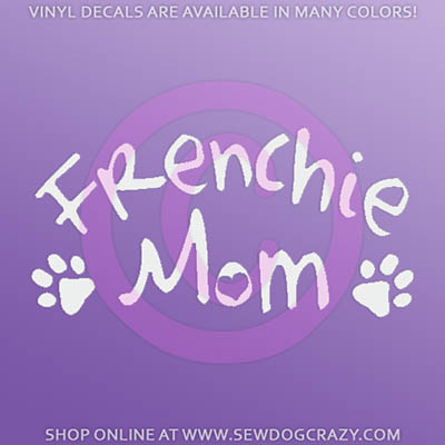 French Bulldog Mom Stickers
