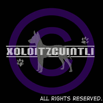 Xoloitzcuintli Embroidered Shirts