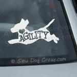 Love Agility Beagle Decal