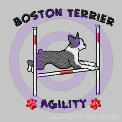 Boston Terrier Agility Shirts