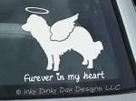 Angel Kooikerhondje Car Window Sticker