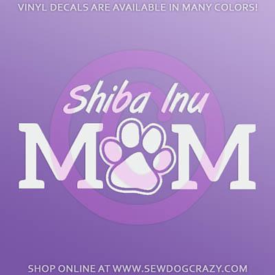 Shiba Inu Mom Car Sticker