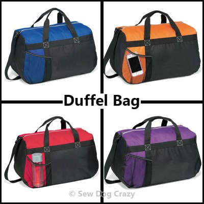 Duffel Bag Color Options