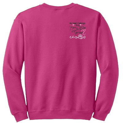 Pretty Kerry Blue Terrier Sweatshirts
