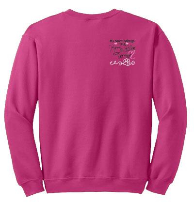 Pretty Kerry Blue Terrier Sweatshirts
