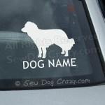 Custom Kooikerhondje Car Window Sticker