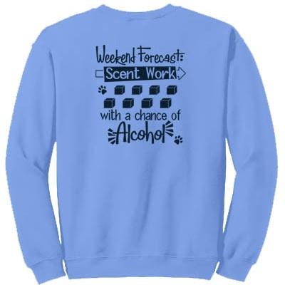 Funny Scent Work Sweatshirt