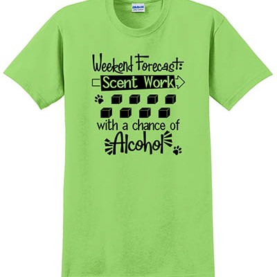 Funny Scent Work TShirt