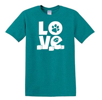 Nose Work Love T-Shirt