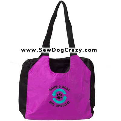 Embroidered Rally Obedience Bag