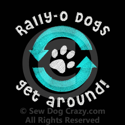Embroidered Rally Obedience Tote Bags