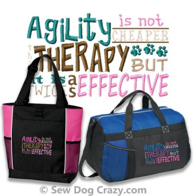 Funny Agility Bags