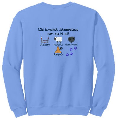 Personalized Embroidered Dog Sports Sweatshirt