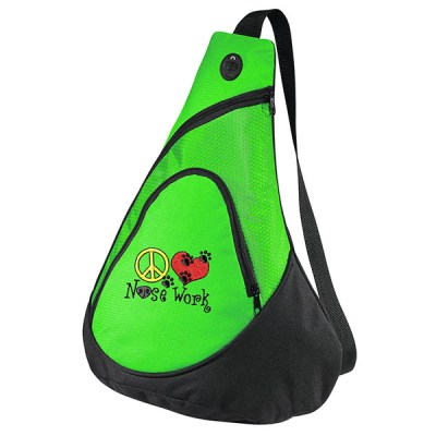 Embroidered Nose Work Bag