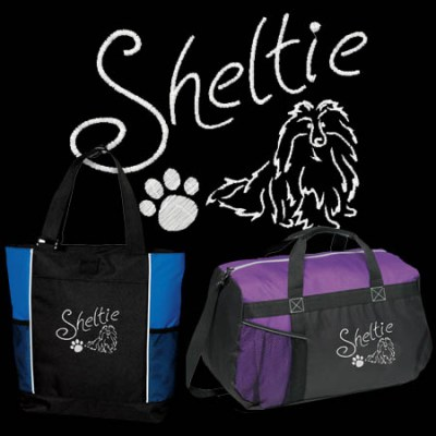 Beautiful Sheltie Bags