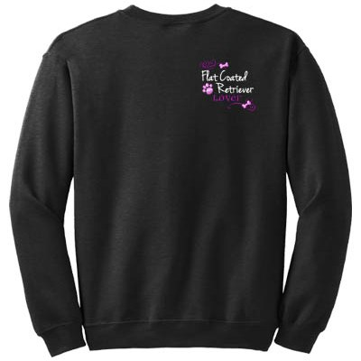 Embroidered Flat Coated Retriever Sweatshirt