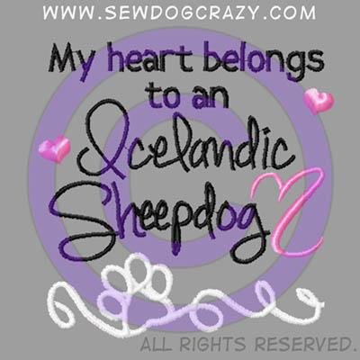 Icelandic Sheepdog Shirts
