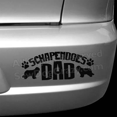 Schapendoes Dad Bumper Stickers