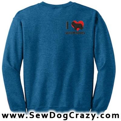 I Love Schapendoes Sweatshirt