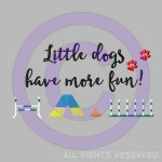 Little Dog Agility Shirts