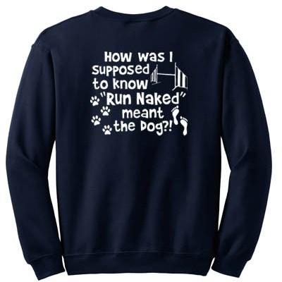 Funny Dog Agility Sweatshirt
