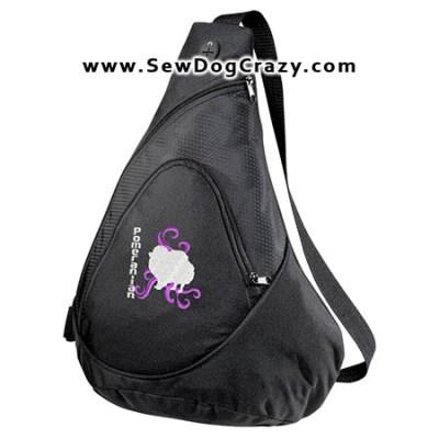 Tribal Pomeranian Bag