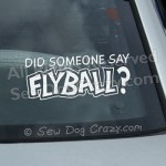 Flyball Car Decal