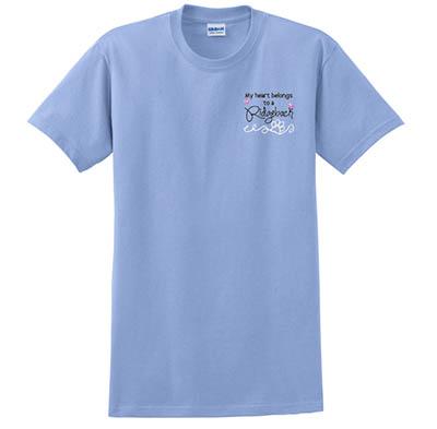 Embroidered Ridgeback Tshirt