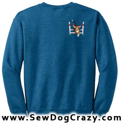 Cartoon Beagle Agility Sweatshirt