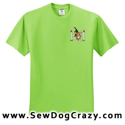 Cartoon Agility Beagle Tshirt