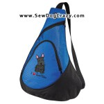Embroidered Scottie Dog Bags