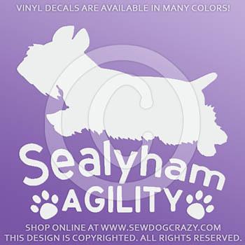 Sealyham Terrier Agility Decals