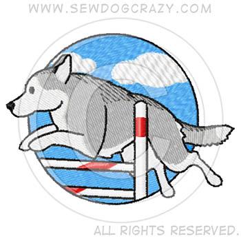 Siberian Husky Agility Shirts