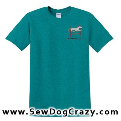 Bar Jump Weimaraner Tshirt