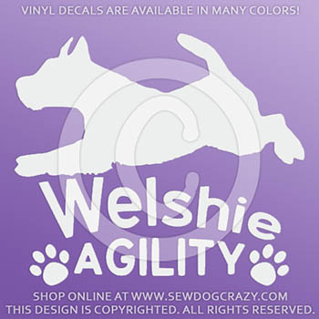 Welshie Agility Decals