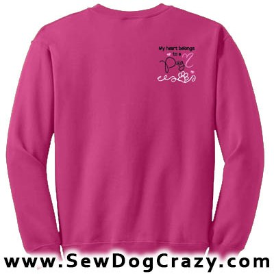 Pretty Pug Sweatshirt