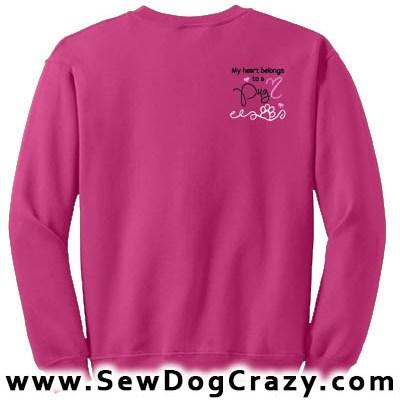 Pretty Pug Sweatshirt