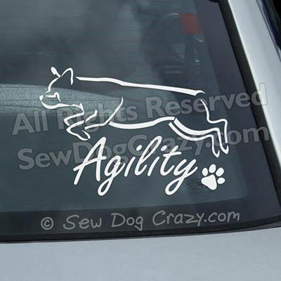 Rottweiler Agility Decals