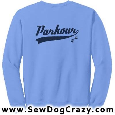 Canine Parkour Sweatshirt