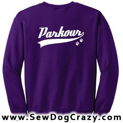 Dog Parkour Sweatshirts