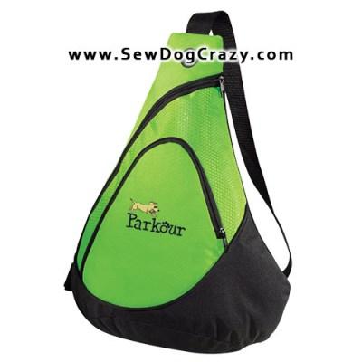Cartoon Dog Parkour Bag