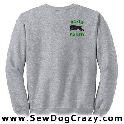 Embroidered Boxer Agility Sweatshirt