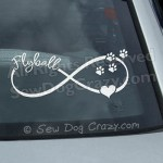 Infinity Flyball Car Window Decals