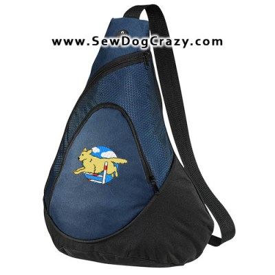 Golden Retriever Agility Bag