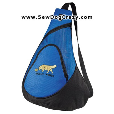Golden Retriever Scent Work Bag
