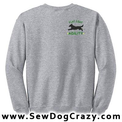 Agility Flat Coated Retriever Sweatshirt