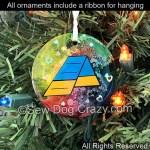 Agility A-Frame Christmas Ornament
