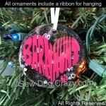Barn Hunt Ornament